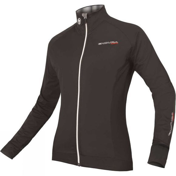 Endura Womens FS260-Pro Jetstream Long Sleeve Jersey Black