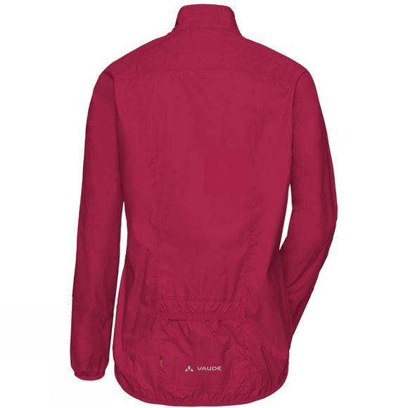 Vaude Womens Air III Jacket Crimson Red