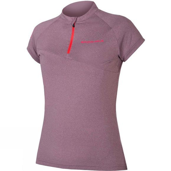 Endura Womens Singletrack Lite Jersey Mulberry