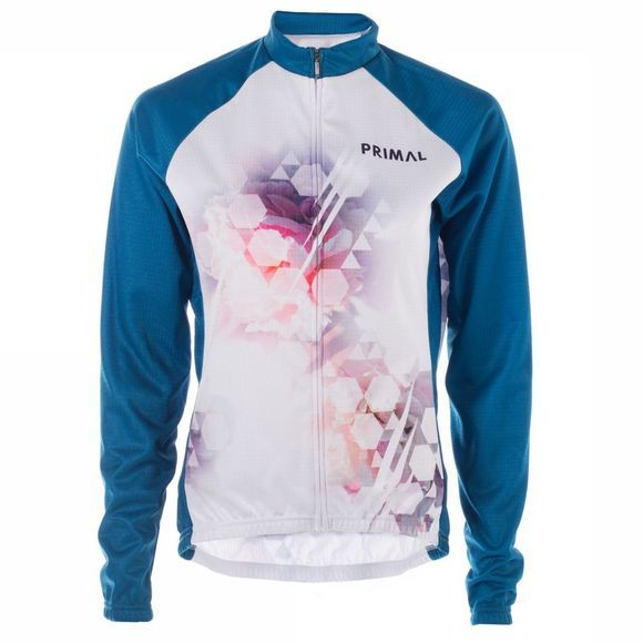 Womens Bokeh Long Sleeve Jersey