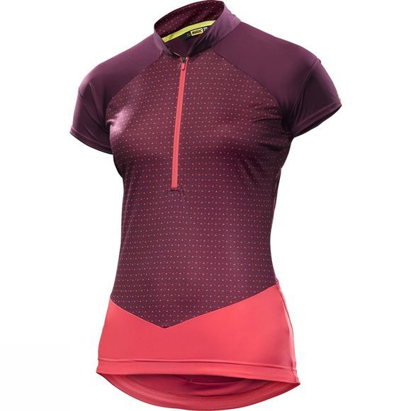 Mavic Womens Sequence Graphic Jersey Purple