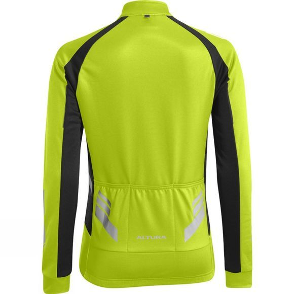 Altura Women Nightvision Commuter 2 LS Jersey Hi Viz Yellow