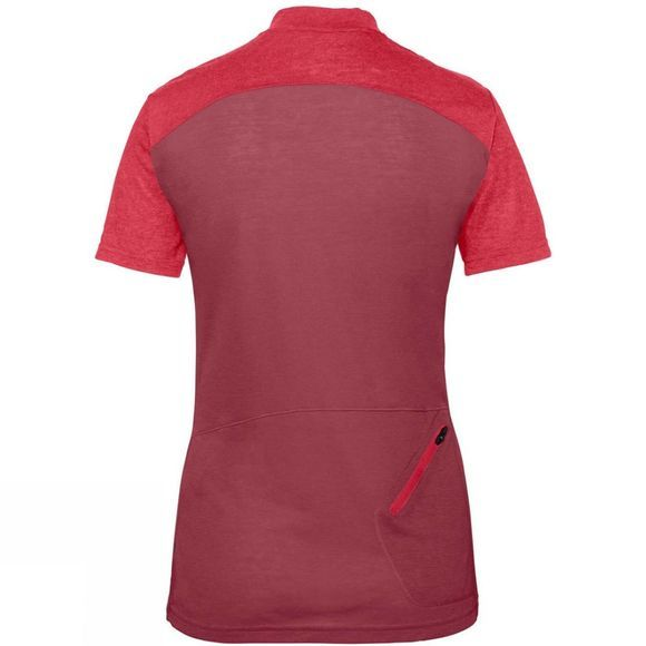 Vaude Womens Tremalzo IV Shirt Red Cluster