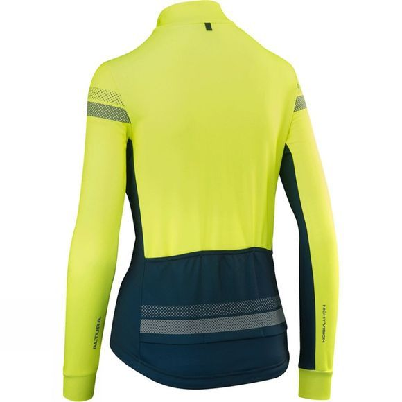 Altura Womens Nightvision 4 Long Sleeve Jersery Hi Viz Yellow