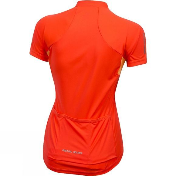 Pearl Izumi Womens Select Pursuit Short Sleeve Jersey Bright pink/Orange