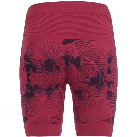 Vaude Women's SQlab LesSeam Shorts Crimson Red