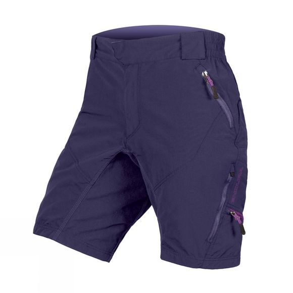 Endura Womens Hummvee II Shorts Purple