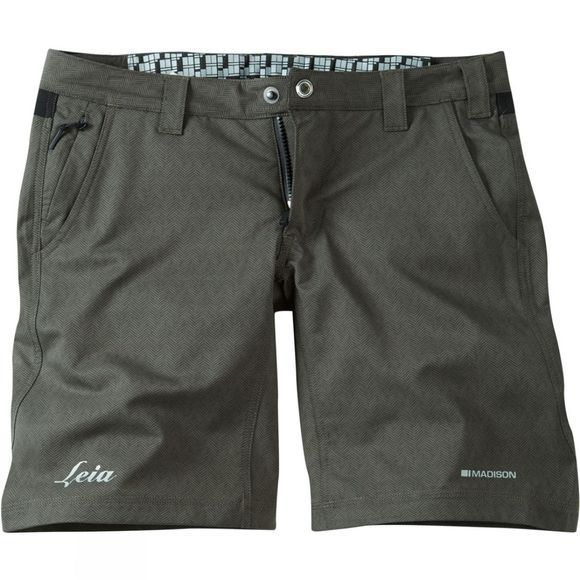 Madison Womens Leia Shorts Grey