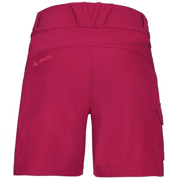 Vaude Womens Tremalzini Shorts Crimson Red