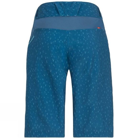 Vaude Womens Ligure Shorts Kingfisher