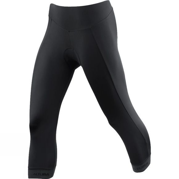 Altura Womens Progel 3 3/4 Tights Black
