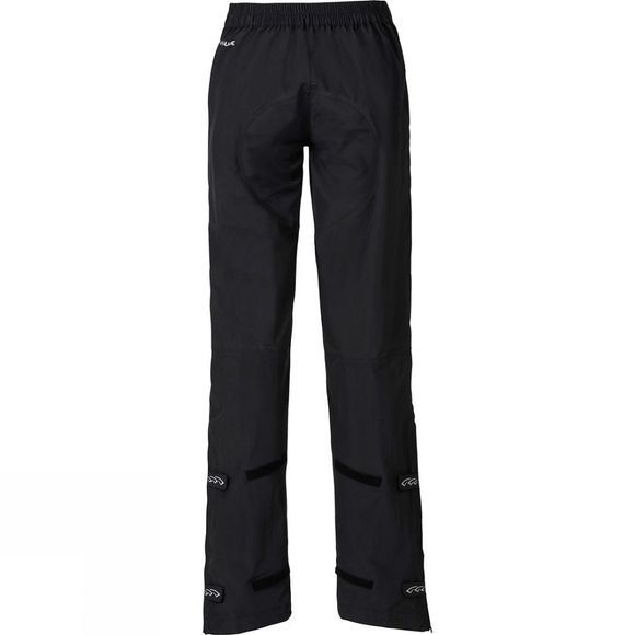Vaude Womens Yaras Waterproof Pants II Black