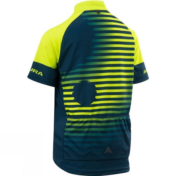 Altura Youth Icon Short Sleeve Jersey Hi Viz Yellow / Blue