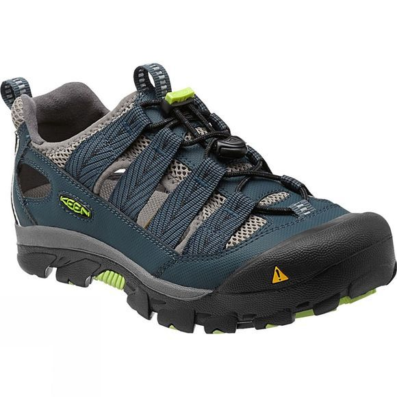 Keen Womens Commuter IV Bike Sandal Midnight Navy / Green Glow