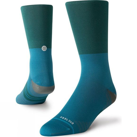 Stance Mens Fixed Crew Teal / blue