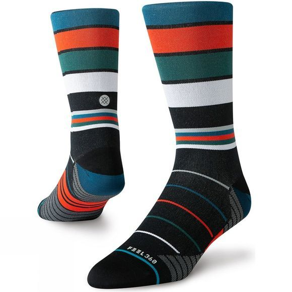 Stance Mens Grade Crew Black/red