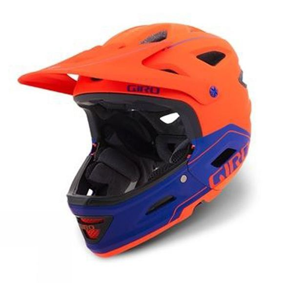 Giro Switchblade MIPS Bike Helmet Vermillion/Purple