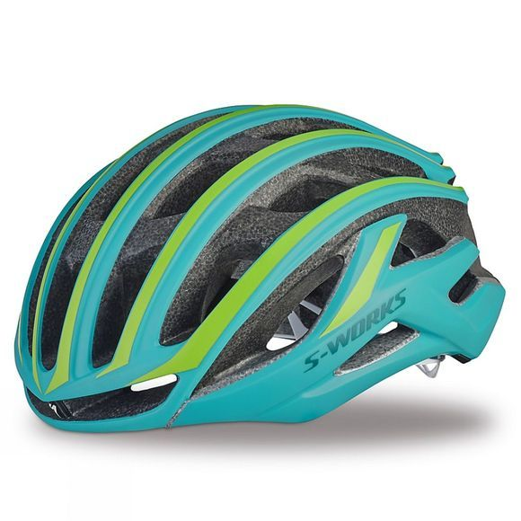 Specialized S Works Womens Prevail Helmet Turquoise/Green