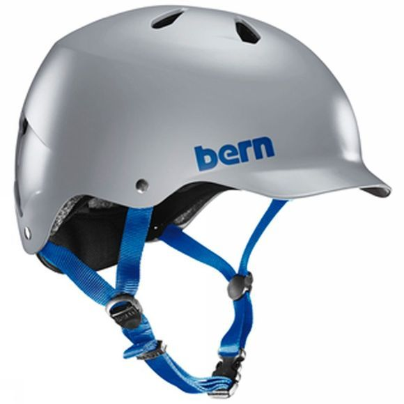 Bern Watts EPS Satin Grey Helmet Satin Grey