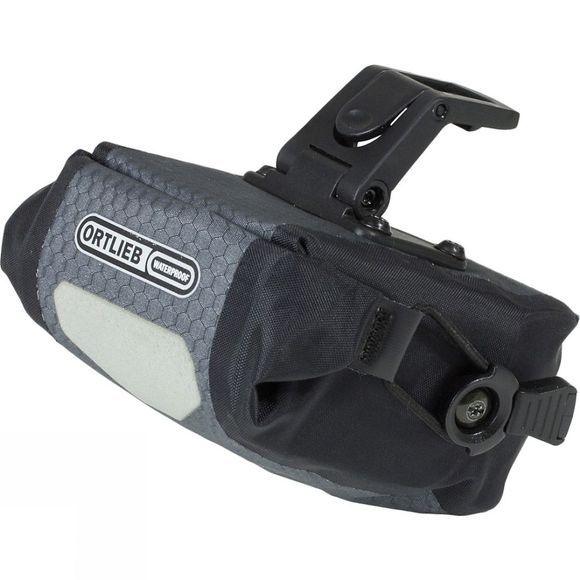Ortlieb Saddle-Bag Micro with Integrated Clip System Slate/Black