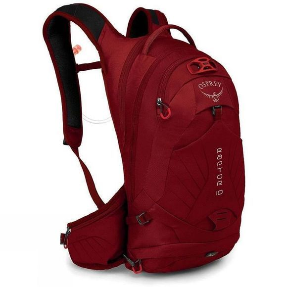 Osprey Raptor 10 Hydration Pack Wildfire Red