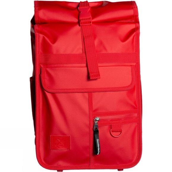Goodordering Mini Rolltop Urban Backpack Red
