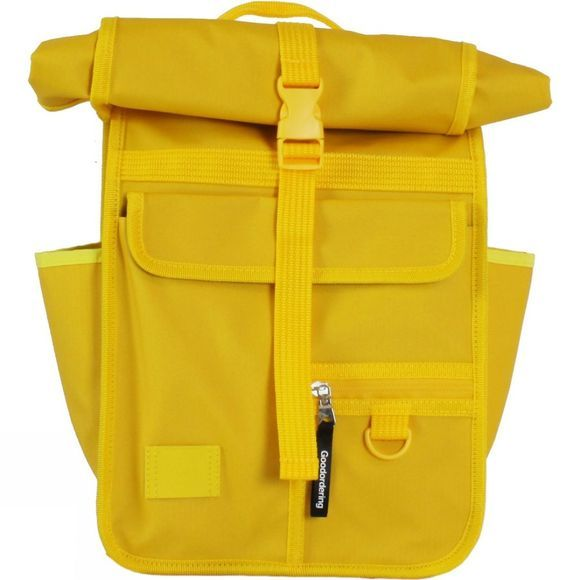 Goodordering Mini Rolltop Urban Backpack Yelllow