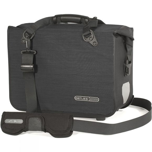 Ortlieb Office Bag Plus Single Pannier - Large QL2.1  Black