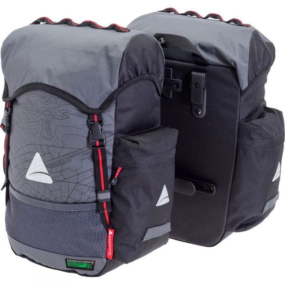 Axiom Seymour Oceanweave P35+ Pannier Set Black