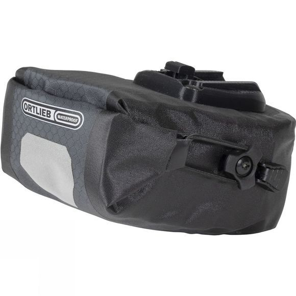 Ortlieb Micro Two 0.8L Saddle Bag Black          /Dk Grey