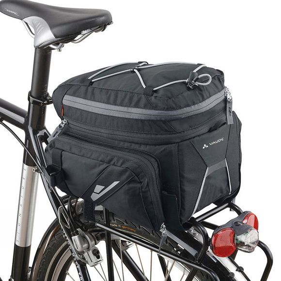 Vaude Silkroad Plus (Snap-it) Rack Bag Black
