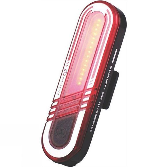 Moon Crescent Rear Light Black