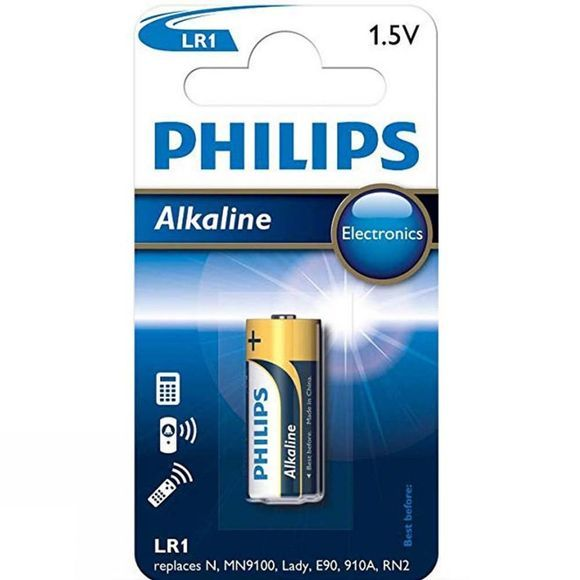 Philips LR1 Battery Black