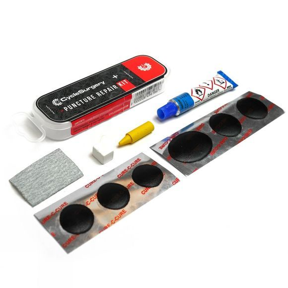 Cycle Surgery Puncture Repair Kit Black