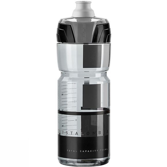Elite Crystal Ombra Bottle 750ml  Smoke Grey