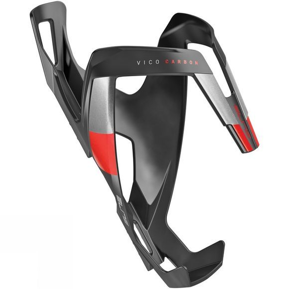 Elite Vico Carbon Bottle Cage Matt Black/Red