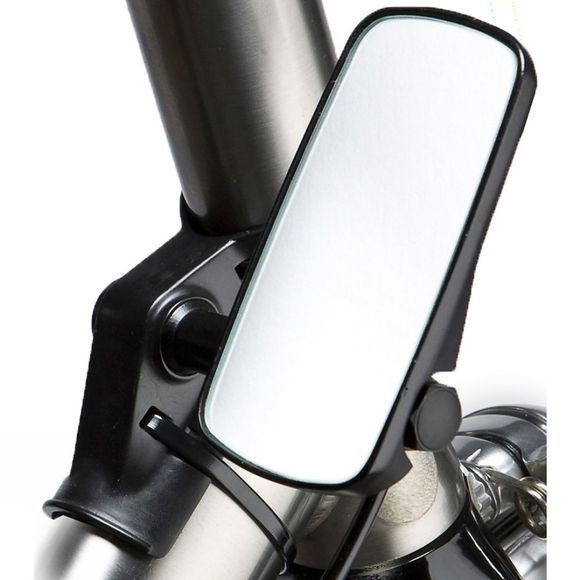 M-Part Adjustable HeadTube Mirror - Wide Black