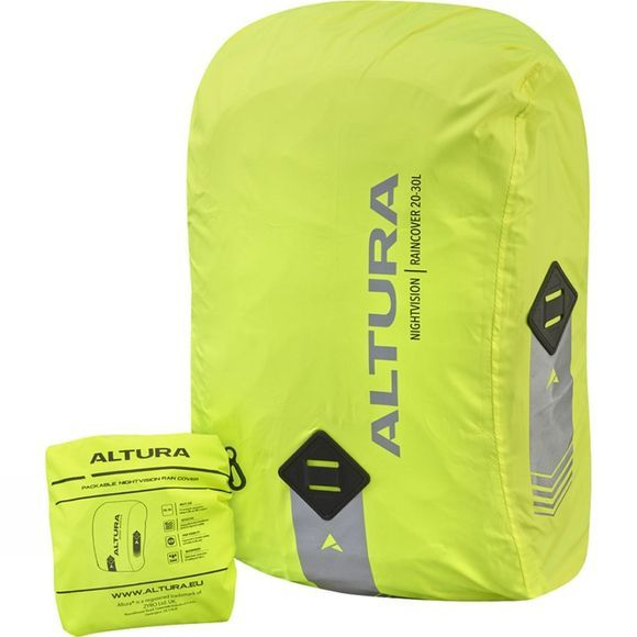 Altura Nightvision Rain Cover Hi-Viz Yellow