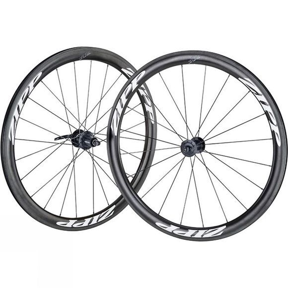 Zipp 302 Carbon Clincher Front Rim Brake Wheel Black          /White