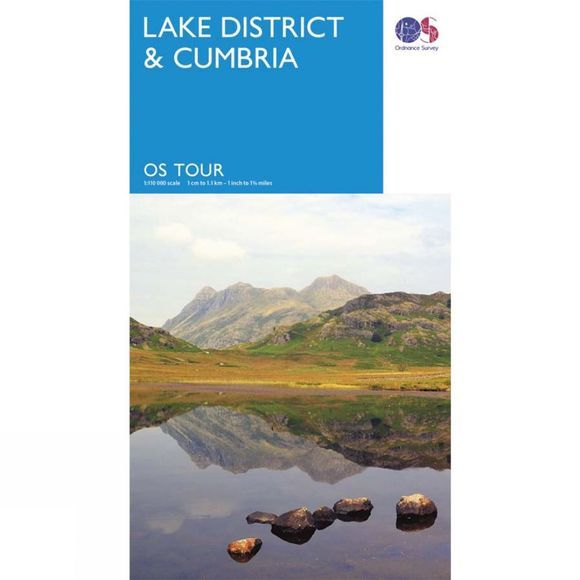 Lake District & Cumbria Tour Map