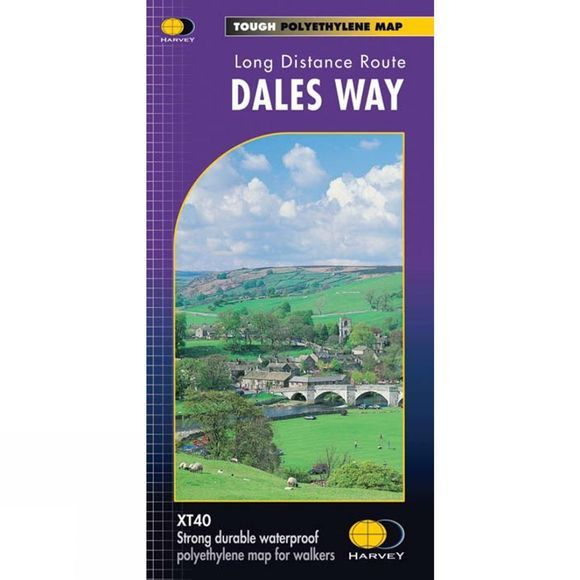 Dales Way Map 1:40K