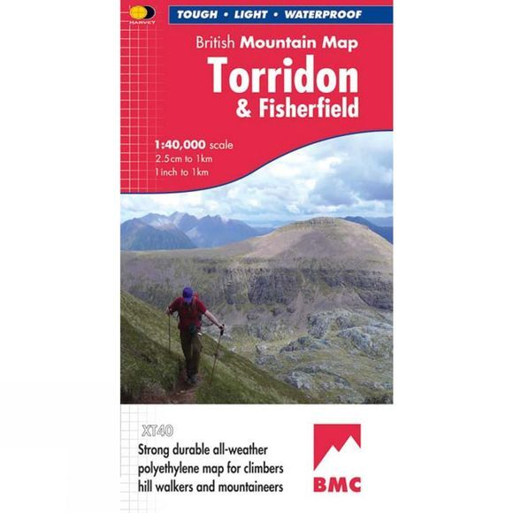 Torridon & Fisherfield British Mountain Map 1:40K