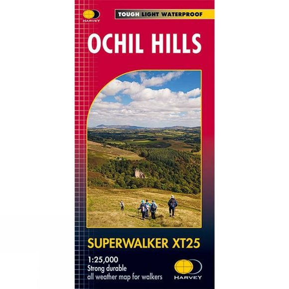 Ochil Hills Map 1:25K