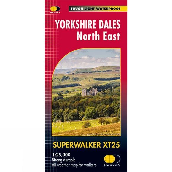 Yorkshire Dales North East Superwalker 1:25K