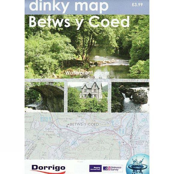 Dorrigo Dinky Map: Betws-y-Coed No Colour