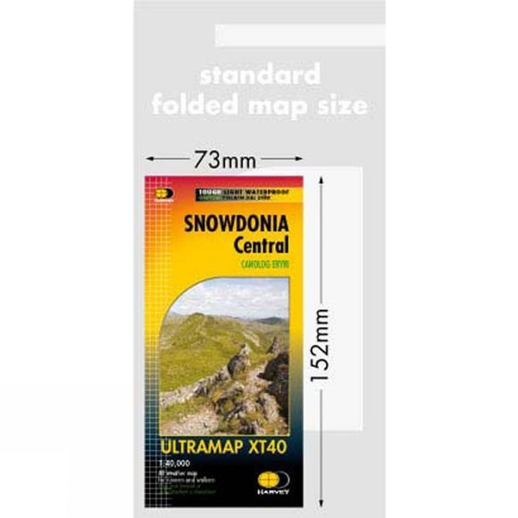 Snowdonia Central Ultra Map 1:40K