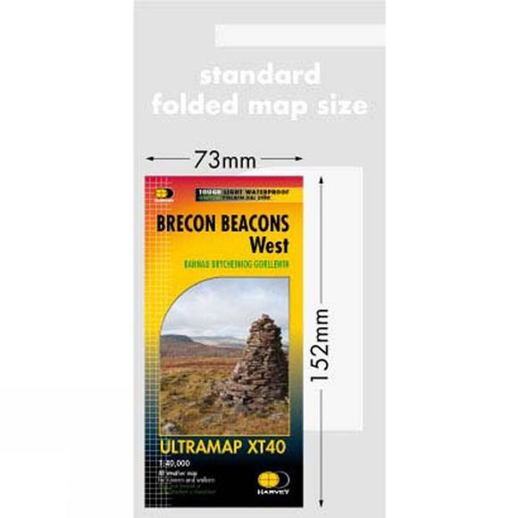 Brecon Beacons West Ultra Map 1:40K