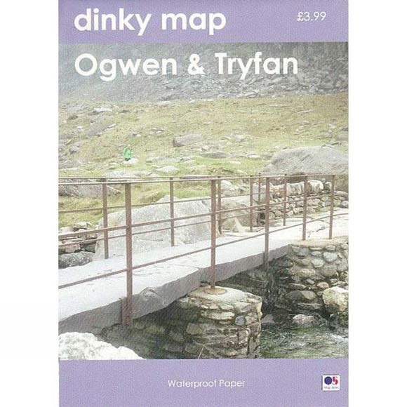 Dorrigo Dinky Map: Ogwen Waterproof Map May 2017