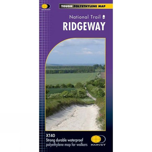 Harvey Maps Ridgeway Long Distance Route Map 1:40K No Colour