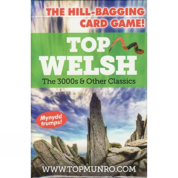 Top Munro Top Welsh Card Game 2017